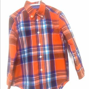 CHAPS Boys 4T Easy Care Button Down Shirt